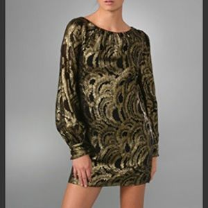 Milly Bridget Long Sleeve Dress